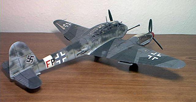 Messerschmitt Me 410B-2 by Andrea Mariottini (Revell-Monogram 1/48)